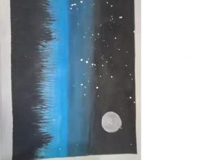 Beautiful Handmade Painting