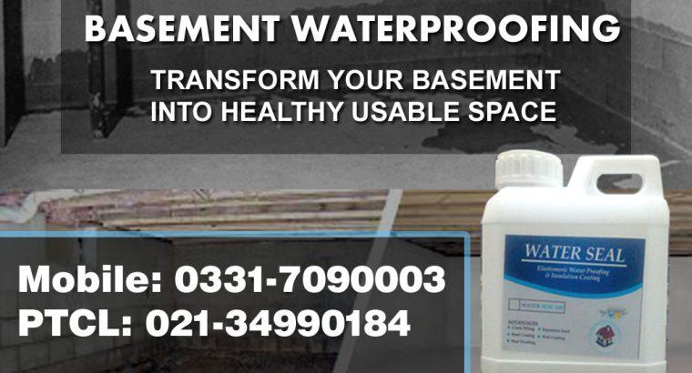 Basement Waterproofing Services in Karachi Pakistan