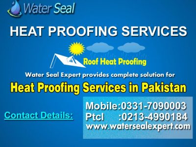 Heat Proofing Services in Karachi Pakistan