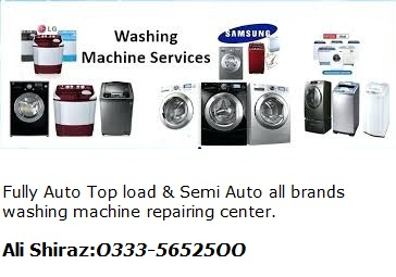 Automatic washing machine Repairing solution