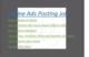 Part time Online ads posting job