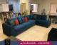 L-shape seven seater sofa
