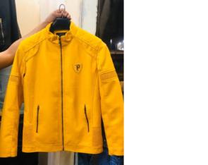 Yellow Imported Jacket