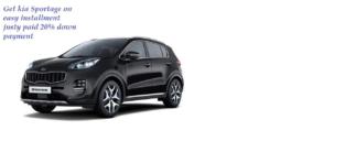 KIA Sportage FWD 2020 On Easy Installment