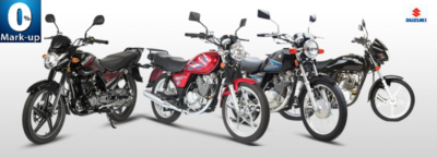 Pak Suzuki installment plan has 0% markup for bikes