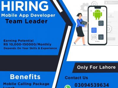 Android Application Developer Team Leader