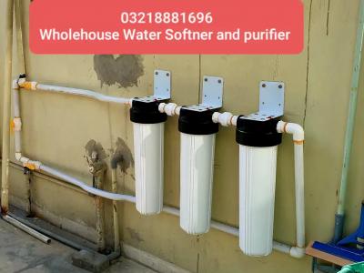 Wholehouse Jumbo Water Filter and Softner